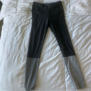 Outdoor Voices Gray Dipped Warmup Legging